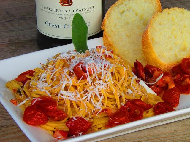 פסטה במסעדה איטלקית בפתח תקווה